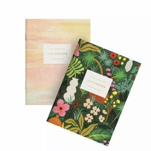 Rifle Paper Co set of Two Notebook Tropic Jungle